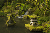 Lower Pond in the Portland Japanese Garden, Portland, Oregon Photo by Michel Hersen