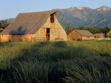 Utah, Cache Valley. Buildings of the Ronald Jensen Historical Farm Photo by Scott T. Smith