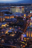 Elaborate Casinos and Hotels Along the Strip, Las Vegas, Nevada Photo by David Wall