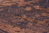 Petroglyph, Petroglyph Canyon, Valley of Fire State Park, Nevada, USA Fotografía por Michel Hersen