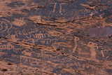 Petroglyphs, Petroglyph Canyon, Valley of Fire State Park, Nevada, USA Fotografía por Michel Hersen