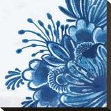 Delft Design I Stretched Canvas Print by Sue Damen