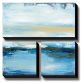 Dreaming Blue II Stretched Canvas Print by Wani Pasion
