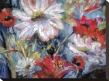Tangled Garden I Stretched Canvas Print by Brent Heighton