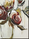 Florist Pickings Stretched Canvas Print by Angela Maritz