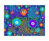 Not Nano for Long DENIM Reprodukcja zdjęcia autor Thinker Collection STEM Art by Lisa C Clark
