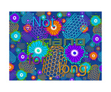 Not Nano for Long DENIM Photographic Print by Thinker Collection STEM Art by Lisa C Clark