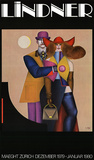 Maeght Zurich Collectable Print by Richard Lindner