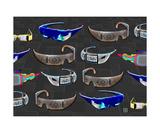 Virtual Reality Headwear Reprodukcja zdjęcia autor Thinker Collection STEM Art by Lisa C Clark