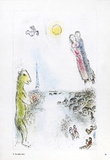 Les Deux Rives Collectable Print by Marc Chagall