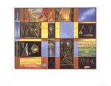 Vox Angelica (no text) Plakater af Max Ernst