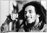 Bob Marley- London 1978 Kunstdruck