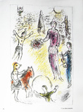 Les Clowns Musiciens Collectable Print by Marc Chagall