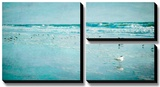 Coastal Breeze Stretched Canvas Print by Heather Jacks