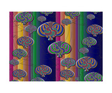 Null Lines Wick Rotation Congruence 2 Photographic Print by Thinker Collection STEM Art by Lisa C Clark