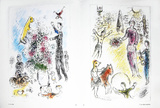 Les Lilas Collectable Print by Marc Chagall