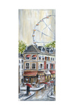 Paris Ferris Wheel Photographic Print by Marilyn Dunlap