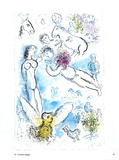 L'envolee Magique Collectable Print by Marc Chagall