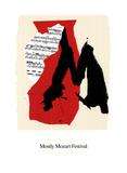 Mostly Mozart Festival Serigrafia por Robert Motherwell