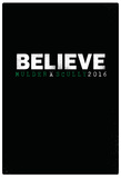 Believe Mulder X Scully 2016 Poster