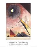 Hinauf Samlertryk af Wassily Kandinsky