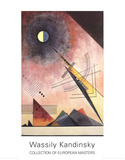 Hinauf Collectable Print by Wassily Kandinsky