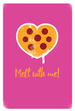 Melt With Me Polka Dots Posters