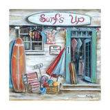 Surfs Up Poster by Marilyn Dunlap