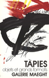 Objets et Grands Formats Collectable Print by Antoni Tapies