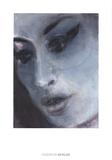 Amy Blue Poster von Marlene Dumas