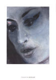 Amy Blue Poster by Marlene Dumas