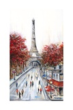 Paris Fall Photographic Print by Marilyn Dunlap
