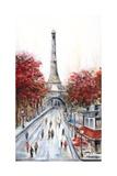 Paris Fall Photographic Print by Marilyn Dunlap