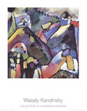 Improvisation 9 Collectable Print by Wassily Kandinsky