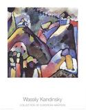 Improvisation 9 Lámina coleccionable por Wassily Kandinsky