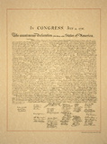 Declaration of Independence Posters by  Unknown