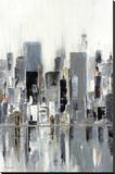 City Bridge Stretched Canvas Print by Aziz Kadmiri