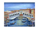 Rialto Bridge Photographic Print by Marilyn Dunlap