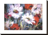 Tangled Garden II Stretched Canvas Print by Brent Heighton