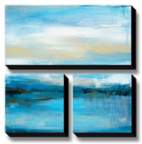 Dreaming Blue I Stretched Canvas Print by Wani Pasion