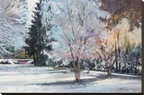 Winter Alive Stretched Canvas Print by Eduard Gurevich