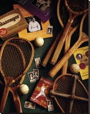 Tennis Stretched Canvas Print by Michael Harrison