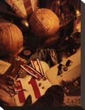 Fodbold Opspændt lærredstryk af Michael Harrison