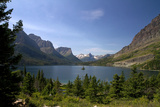 Saint Mary Lake in Glacier National Park, Montana, USA Photographic Print by David R. Frazier