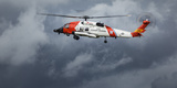 USA, Oregon, Hood River, Us Coast Guard Hh60 Jayhawk Photographic Print by Rick A. Brown
