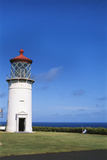 Hawaii Islands, Kauai, Kilauea Lighthouse Photographic Print by David R. Frazier