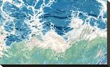 Twisting and Twirling Waves Trykk på strukket lerret av Margaret Juul