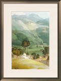 Ambleside, 1786 (W/C with Pen and Ink over Graphite on Laid Paper) Framed Giclee Print by Francis Towne
