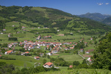 Basque Countryside Near Bilbao, Biscay, Spain Photographic Print by David R. Frazier