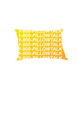 1-800-Pillowtalk (Yellow) Póster